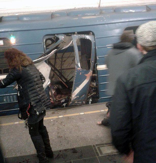 Τρομοκρατική επίθεση στην αγία πετρούπολη