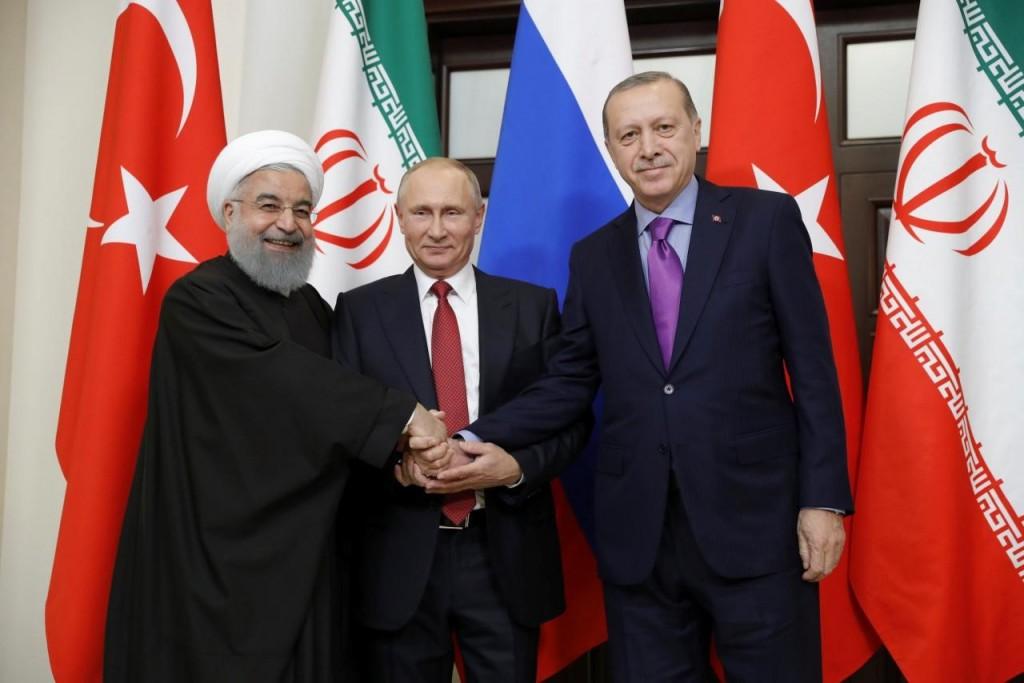 Η τριμερής συνεργασία για τη Συρία στο Σότσι (22/11/2017)