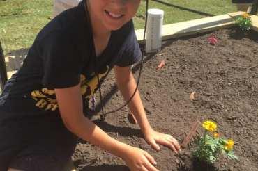 Kedron Scouts' Community Garden