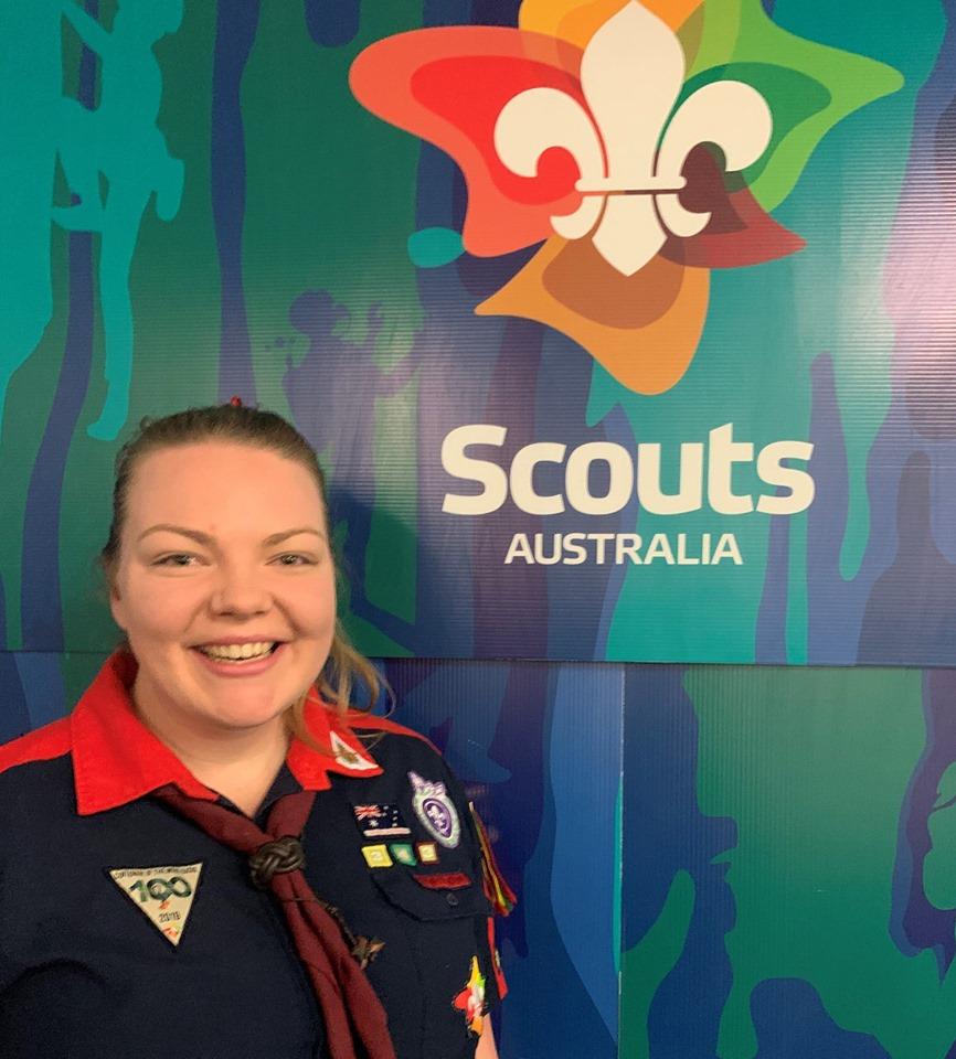 Kedron Scout Leader Kimba