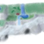 滝と川の絶壁アクアテラリウム!構造や作り方を解説!!