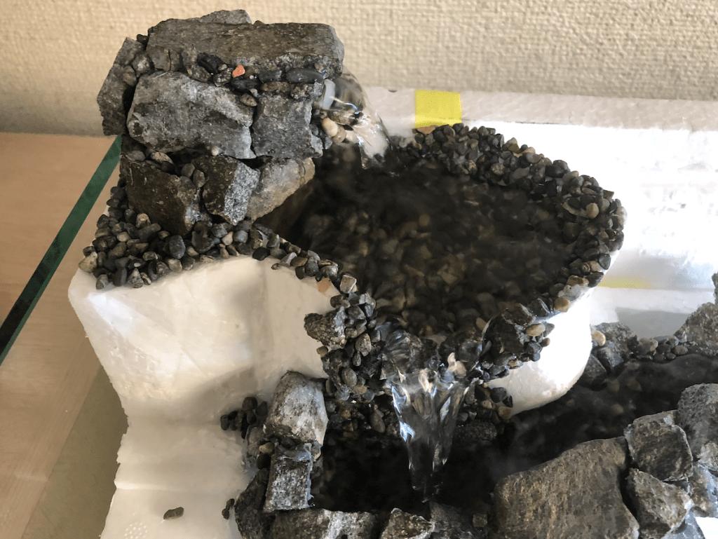 アクア テラリウム 滝