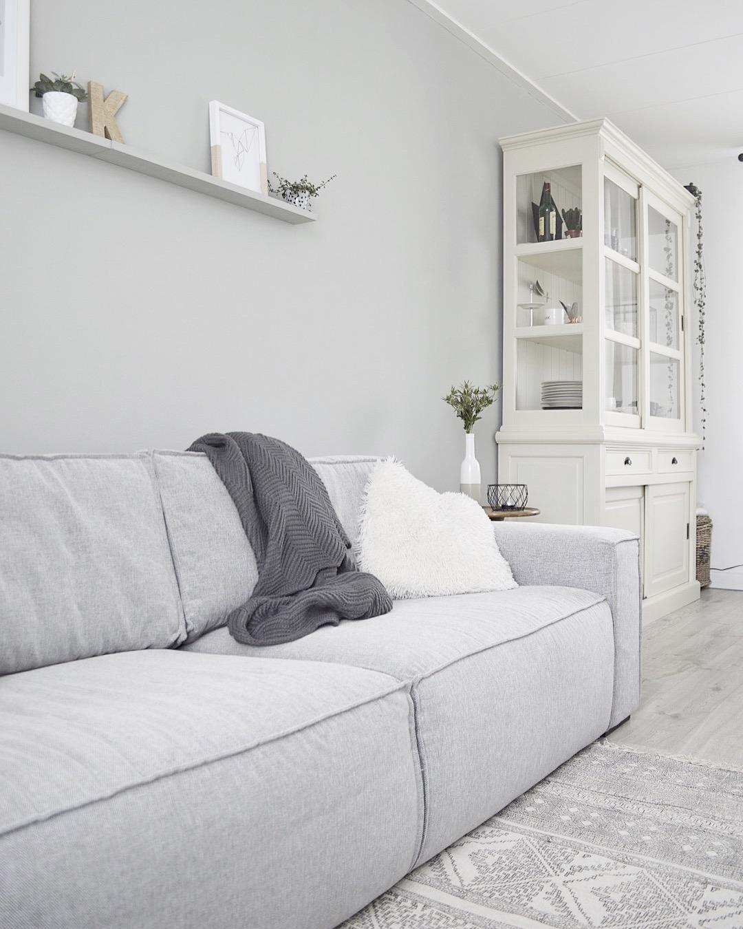 woonkamer bank woonexpress interieur inspiratie blog landelijk Scandinavisch home vloerkleed