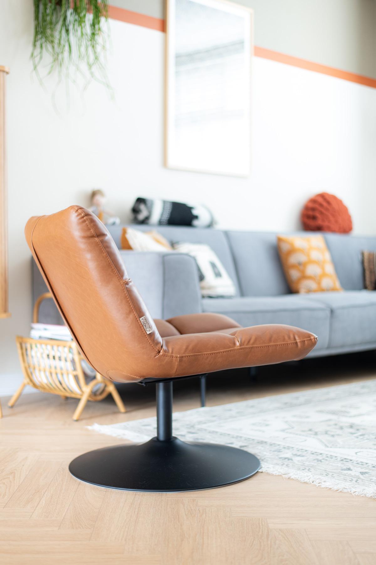 keeelly91 fauteuil bar vintage bruin industrieelwonen woonkamer interieur wonen styling bohemian