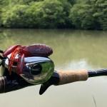 釣行レポートvol.3『野池バス』大雨後の超増水激濁り野池にバックスライドのみで挑む