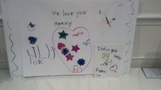 Katies letter from the girls <3