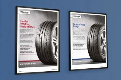 Campaign poster design – Bridgestone