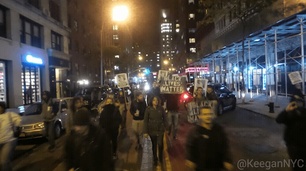 UPDATED: NYPD Arrests Peaceful Protesters 'Obstructing Car Traffic' on Closed Street, Target Organizers Who Speak Out