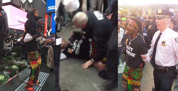 NYPD Arrests Peaceful Protester Carrying 2-Year-Old Child and 10 Others at #RiseUpOctober March Against Police Terror