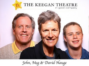 In Good Company: John, Meg and David Hauge