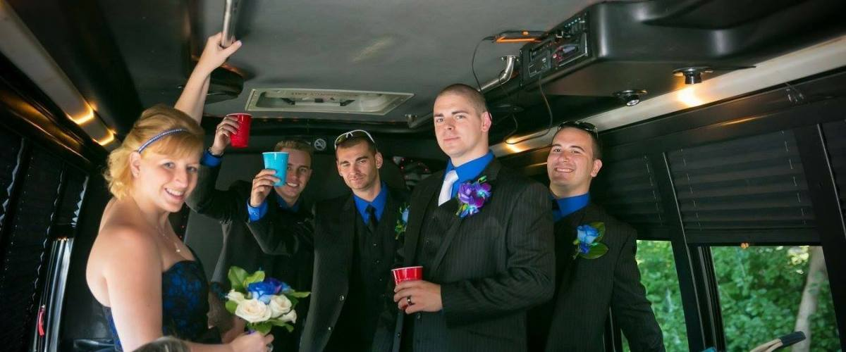 limo coach party bus services