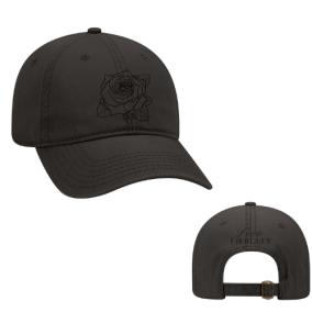 ROSE BLACK HAT (BLACK ON BLACK)