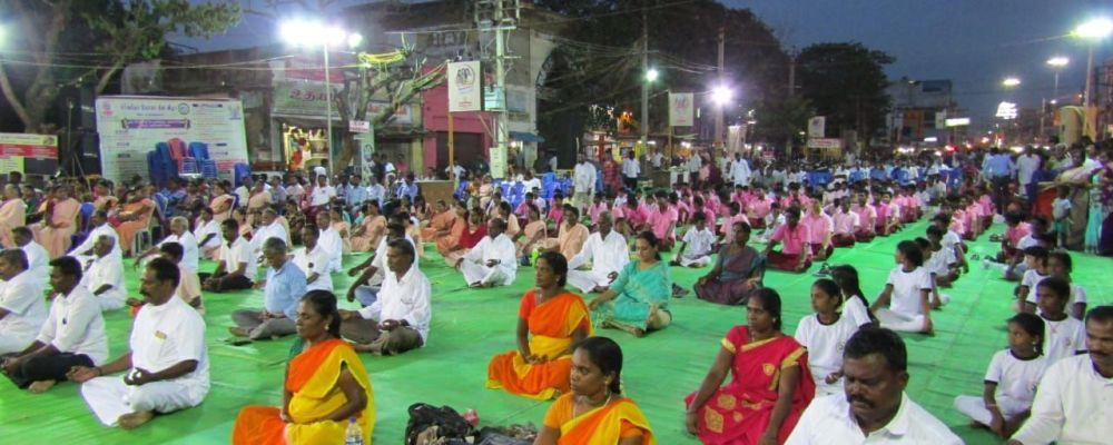 இராமநாதபுரத்தில் சர்வதேச யோகா தின விழா பேரணி நடைபெற்றன…