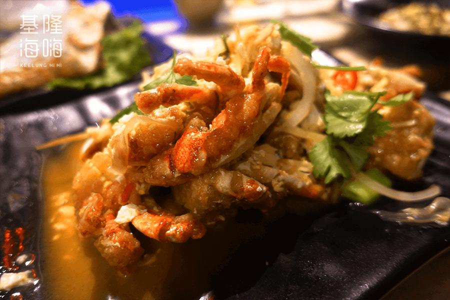 和平島 阿信ㄟ灶咖 桂花黃金蟹