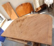 Stripped not sanded