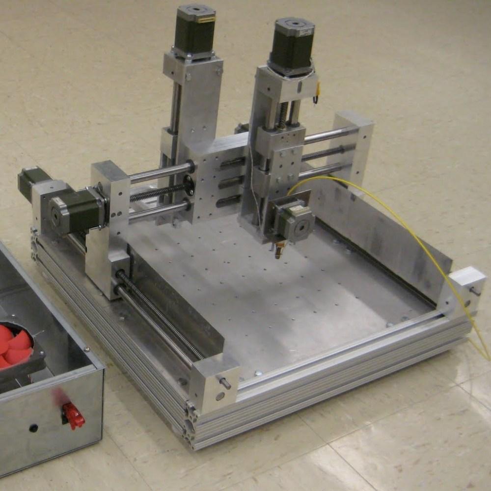 Hydra CNC mill
