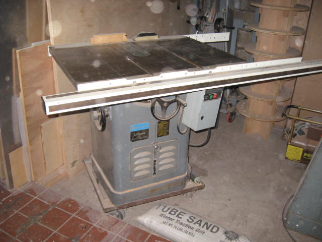 Yates American Table Saw Jointer Sander