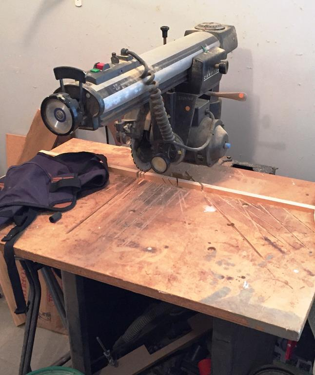 Radial Arm Saw Craftsman