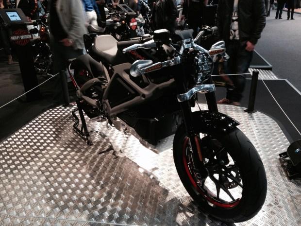 Harley-Davidson LiveWire on Motorbeurs Utrecht