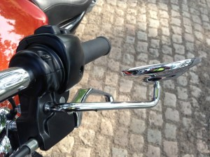 H-D Sportser 1200 Custom - mirror