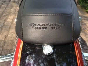H-D Sportser 1200 Custom - rear seat