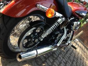 H-D Sportser 1200 Custom - rear suspension