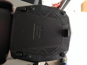 установка givi v47 на bmw r1200rt накладка
