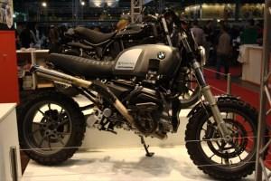 Выставка Motorbeurs 2016  -  Скрамблер БМВ