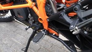 KTM лапка переключения передач