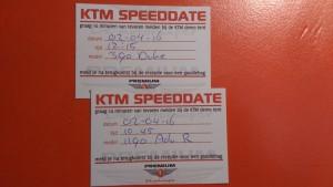 KTM талончики на тест-драйв
