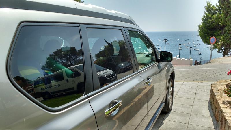 Отпуск на машине в Испании 2016