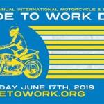 """Понедельник 17 июня международный """"Ride to work day"""""""