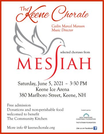 The Keene Chorale June 5 concert