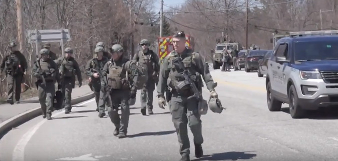Militarized Police in Keene