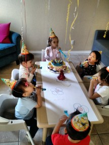 Kiddos birthday celebration