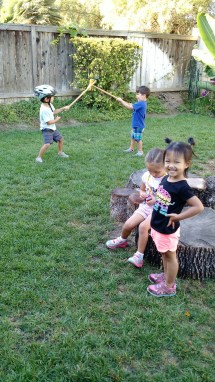 Kiddos having fun