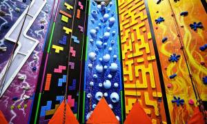 different type of climbing walls