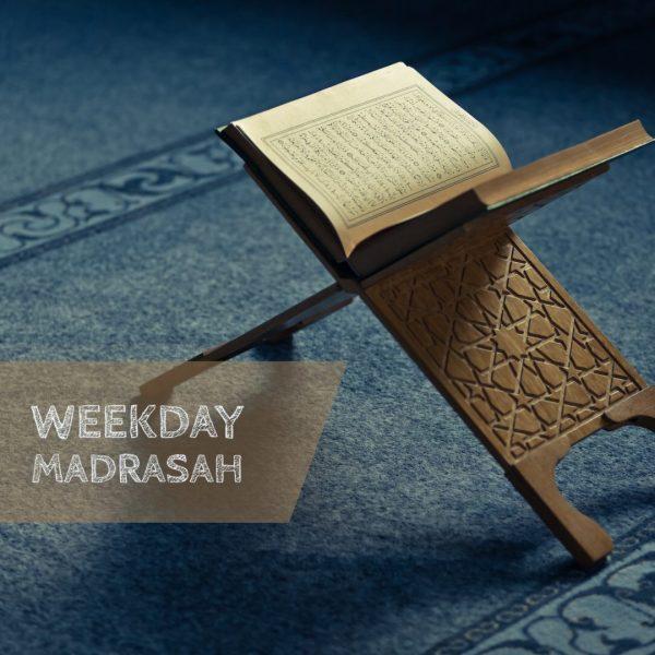 Weekday madrasah poster