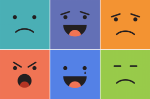 six different emotions