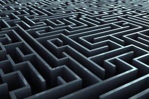 top of maze