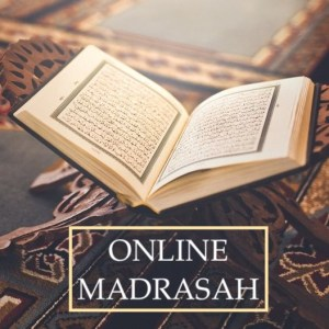 open quraan and Online madrasah poster