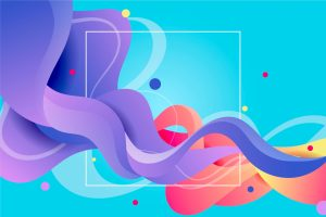 colourful swirly design background