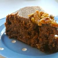 Parsnip Cake - vegan, sugar & gluten free