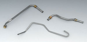 1969 Corvette Fuel Line  Pump To Carburetor 390 Hp With Filter Kit (3 Pcs)  Parts