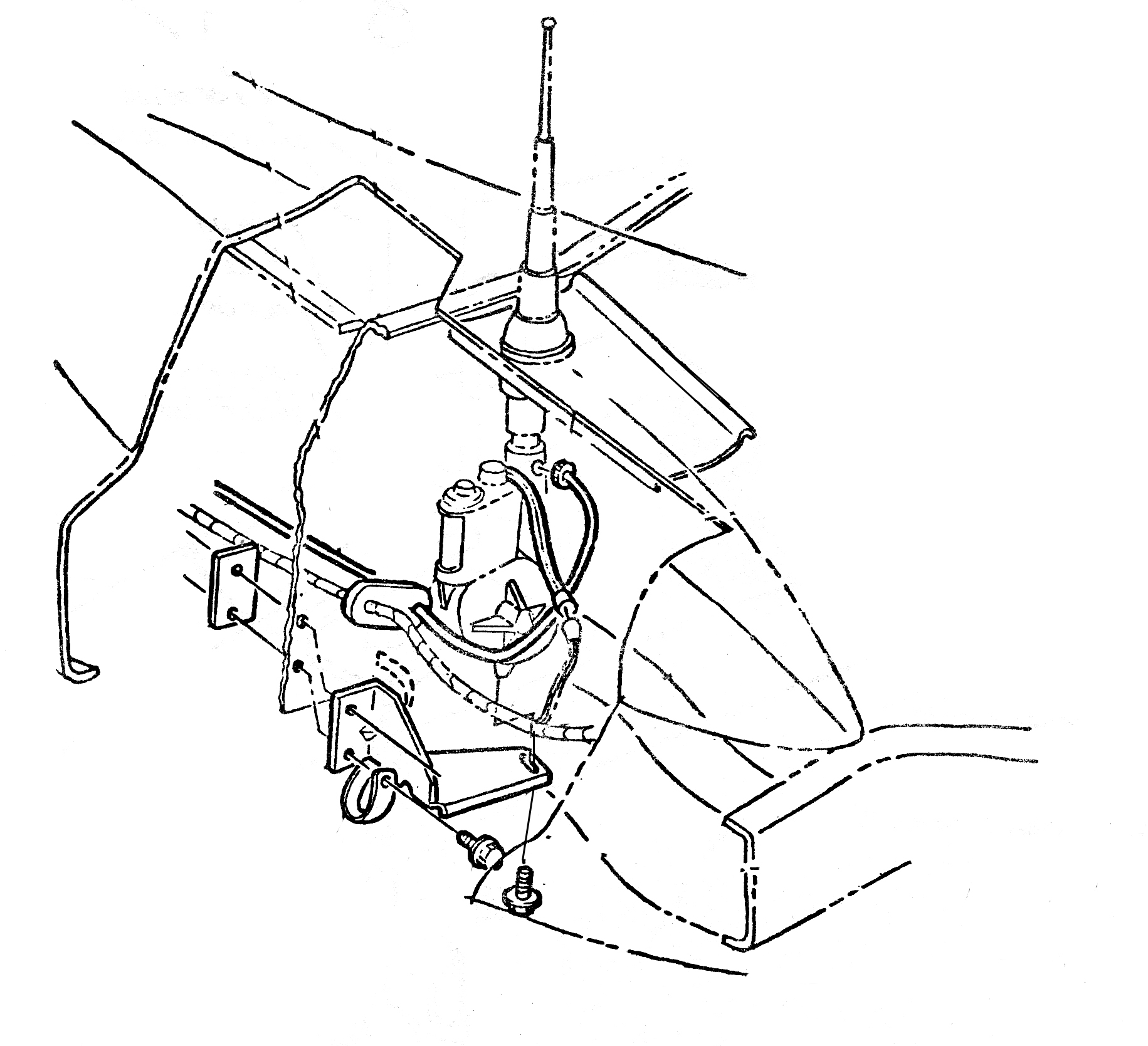 C3 Corvette Front Spindle Parts Diagram