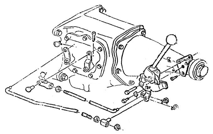 1968 Corvette Manual Transmission Mount Parts