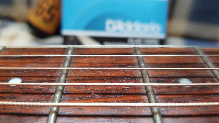 New strings day: D'Addario EFT16