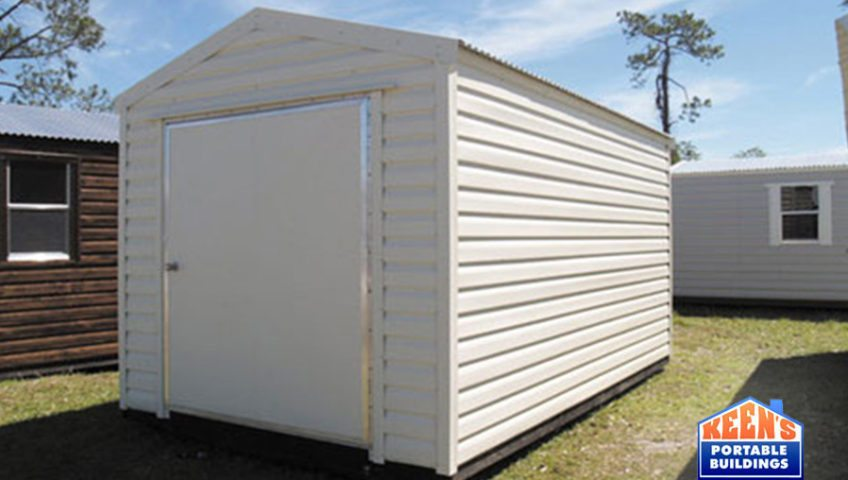 Metal Shed 12x16 60 Door Storage Building Keens Buildings
