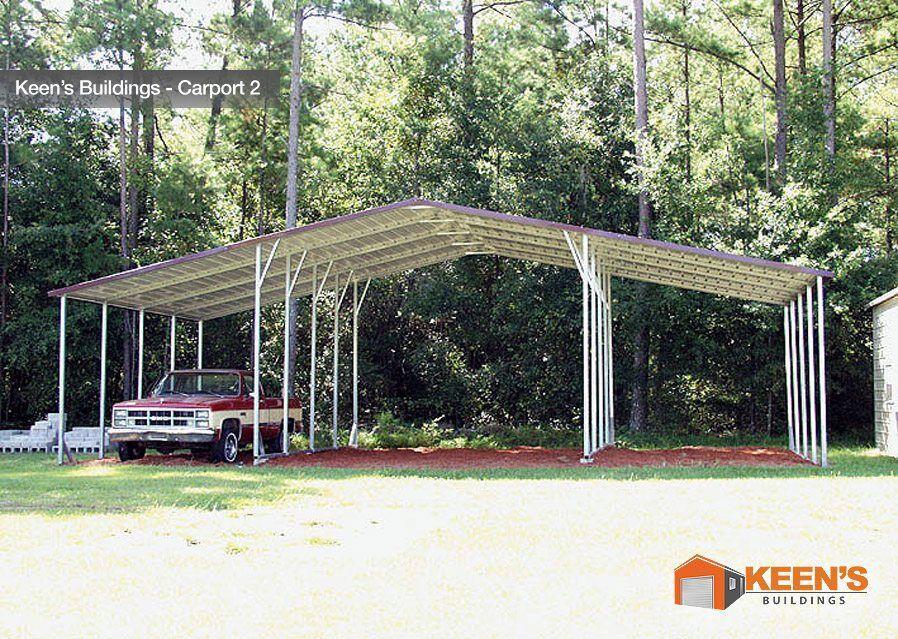 Steel Carports Keens Buildings