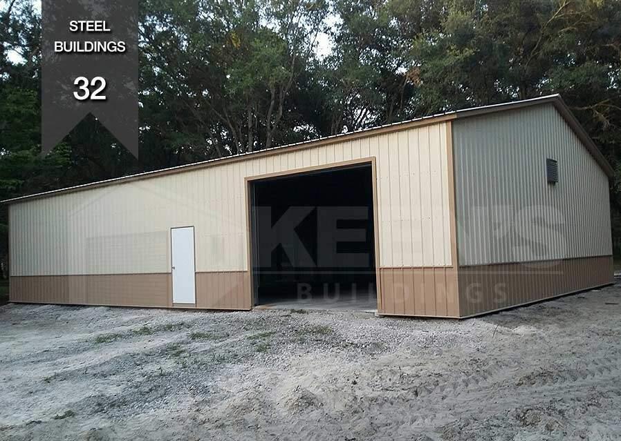Steel Building KB 32 40x50 Wearhouse Keens Buildings